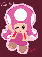 ~(OLD)Toadette~ by TokieTheDeadGuy
