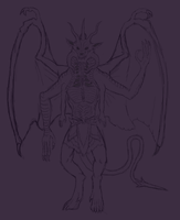 Altzeerus Full Body Scetch by Redspets
