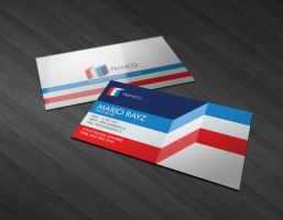 Franco business card by Lemongraphic
