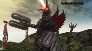 MMD Newcomer - PS3/PS4 Gigan DL MOVED by MMDCharizard