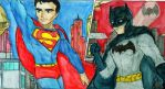 Batman and Superman by CristianGarro
