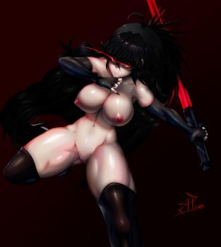 Raven Branwen [NSFW] by SignHerePlease