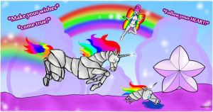 Robot Unicorn Attack by marichanxx