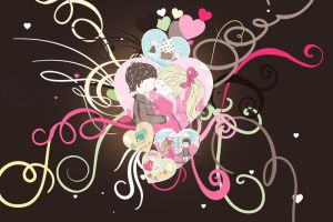 Heart Frames by thesashabell
