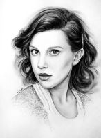Millie Bobby Brown by csillabold
