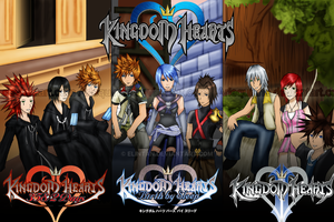Kingdom Hearts - Reconnect by ElinTan