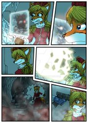 Chronicles of Polaris Comic Page 6 PREVIEW by MikeOrion