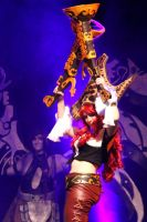 Miss Fortune Cosplay - Comic Con 2012 : on stage by Galuren