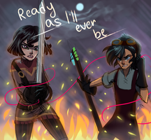 Tangled the series: Cas and Varian by Zoro-Fly