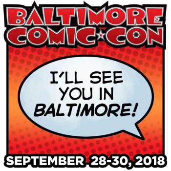 Baltimore Comic Con by em-scribbles