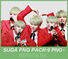 Suga (BTS)  Png Pack by inspiritbetul