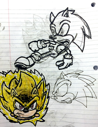 Sonic Sketches by Joshtrip1
