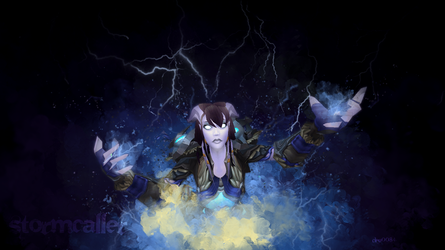 Stormcaller Wallpaper by NelEilis