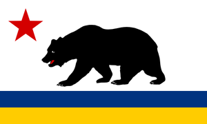 Alternate US Flags: California by rubberduck3y6