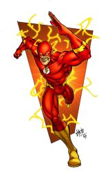 The Flash by spidermanfan2099