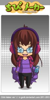 Chibi Me by musicalsinglover
