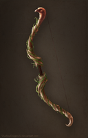 Bow of Vines Commission by ShadowDragon22
