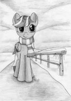 Northern Cross with Scarf by Ter0k