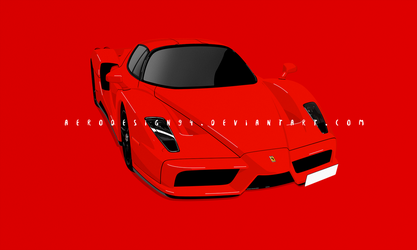 Ferrari enzo by AeroDesign94