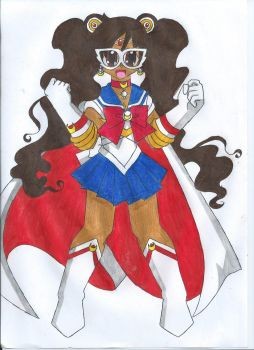 Ethnic Sailor Moon: Black by animequeen20012003