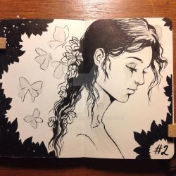 Day 2 INKtober 2015 by mayan-art