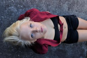 Kirsty - red shirt 2 by wildplaces