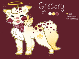 Sushi Dog ref || Gregory by divinedust
