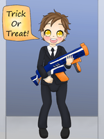 Trick or Treat #5: Aaron by Pastel-Hime