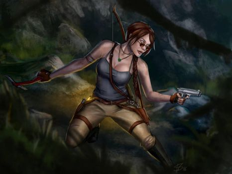 Lara Croft Tomb Raider by Dinoforce