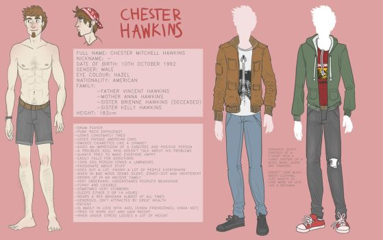 Chester reference sheet 2016 by AriaDog