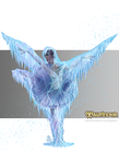 Silver Swan Ballerina - Wayfinder 17 illustration by BiPiCado