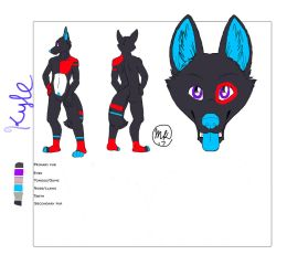 Kyle Ref Sheet by kyledawolf