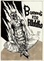 Burning For Buddha by WolfMagnum