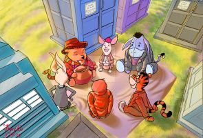 The Many Adventures Of Dr. Pooh by Ari-Spike-Nadelman