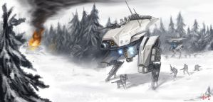 Arctic Ambush by VietNguyen