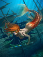 Mermaid by Google-Moogle