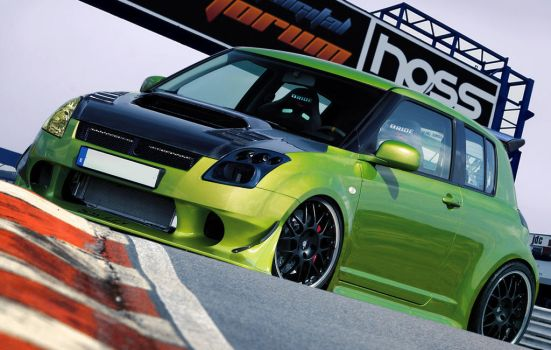 Suzuki Swift HOSSPORT by Hossworks
