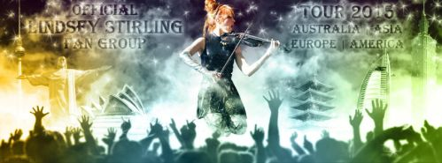 Lindsey Stirling Fan Group Tour 2015 by cmdrsamu