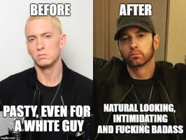 Eminem before and after by JMK-Prime