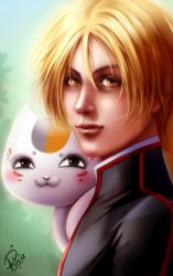 Natsume's Book of Friends : Natsume by Philiera