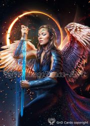 Angel-warrior by Vasylina