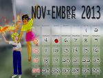 November 2013 by mushisan