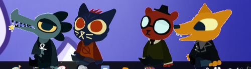 (NITW) NitW Shimejis (DOWNLOAD) by Foxofnope