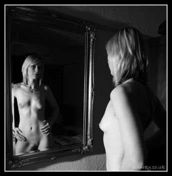 The Girl in the Mirror by 365erotic