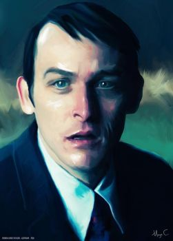 Thoughtful, deep and profound Penguin. by MayaCobblepot