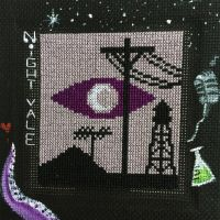 Welcome to night vale cross stitch by MandayisRunner4life