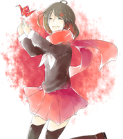 Red Is The Color Of Heros [Kagerou Project] by KokoMall
