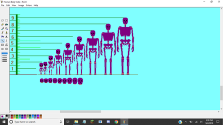 Human Male Growth Chart WIP by TommyProductionsInc