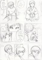 Lee and Gaara Doujinshi -- p2 by nocturnalMoTH