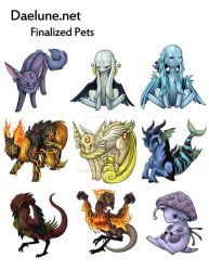 Daelune - Original pets by Bearpuncher